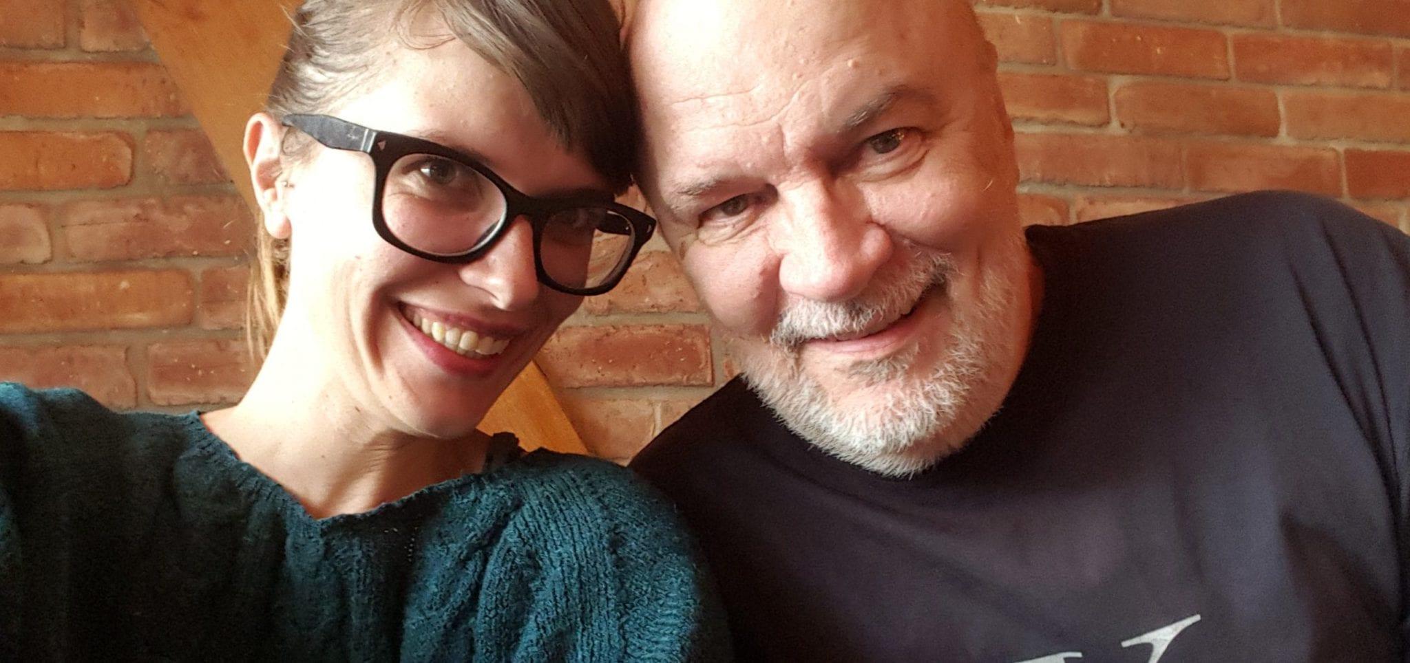 My daughter Tina and me