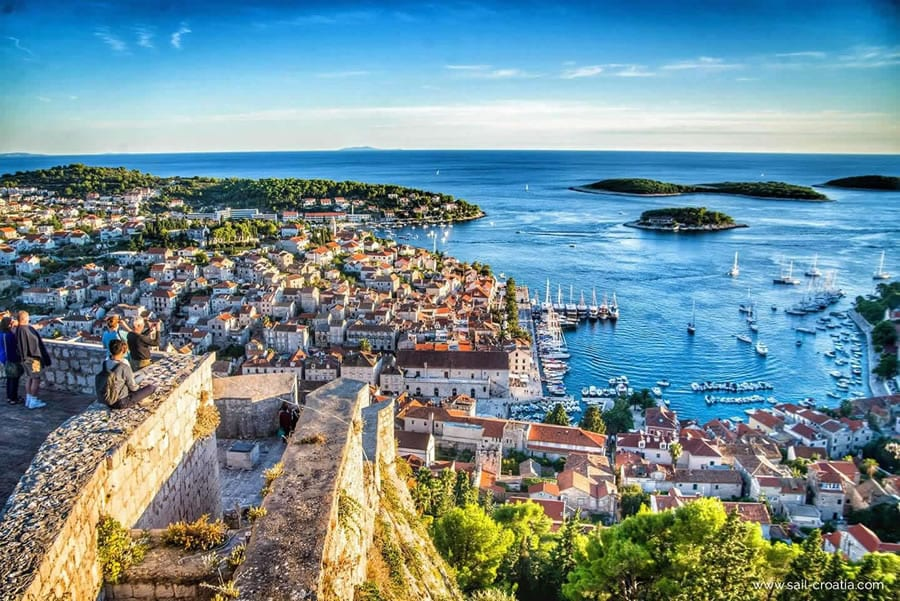 Most Beautiful Islands in the World town Hvar