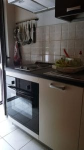 Apartments in Croatia. In picture is Kitchen totally equipped.