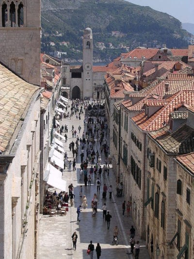 Dubrovnik one of the best places to visit in Croatia.