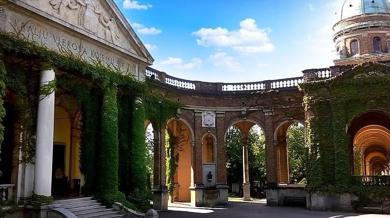 Mirogoj Cemetery. One of the most beautiful European cemeteries.