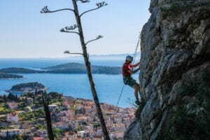 Climbing on Hvar – Croatian island