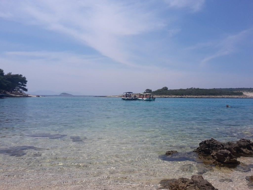 Pakleni otoci mlini beach