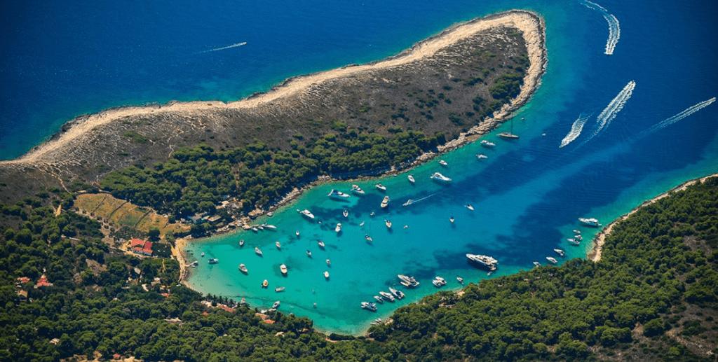 Pakleni otoci vinogradisce bay