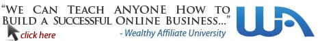 Is Wealthy Affiliate Real or a Scam WA promo