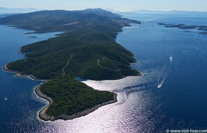 Cape Pelegrin, the westernmost point of the island of Hvar