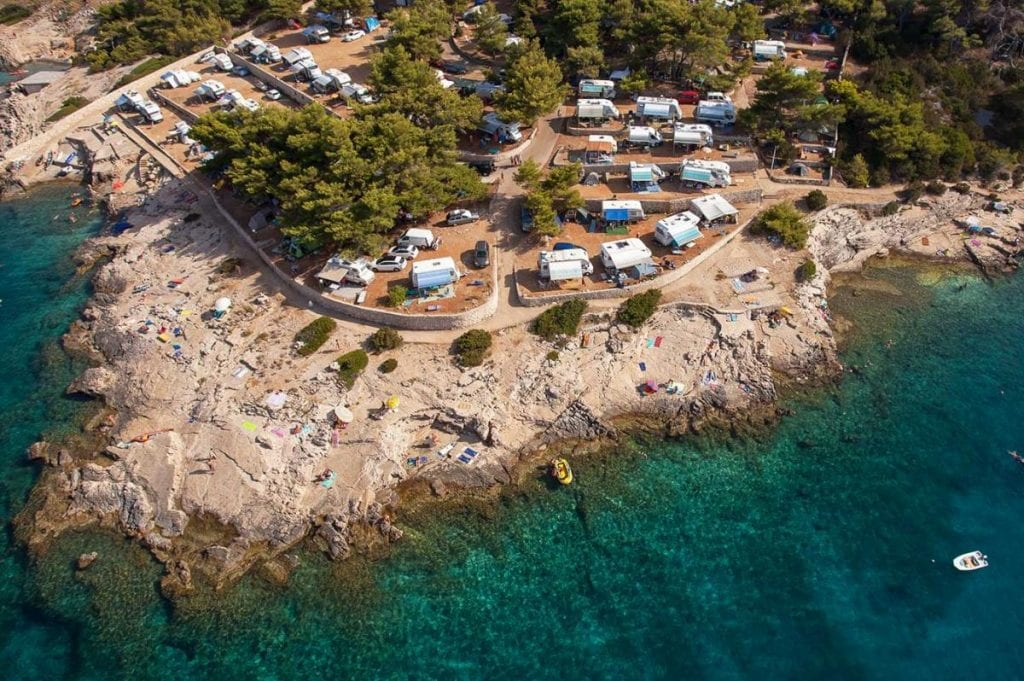 Camping on Hvar Camp Nudist
