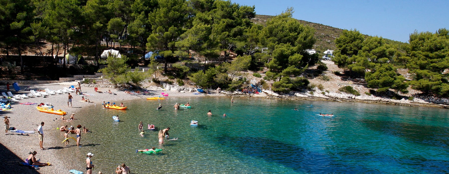 Camping on Hvar Camp Vira
